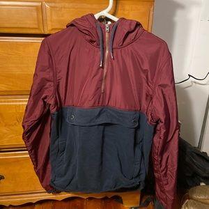 Hollister windbreaker sweatshirt, MEDUIM